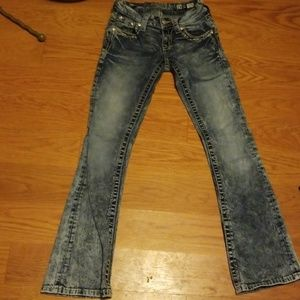 Miss Me Boot cutJeans size 23